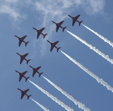 Airshows are great ways to see the biggest innovations in the aviation industry.