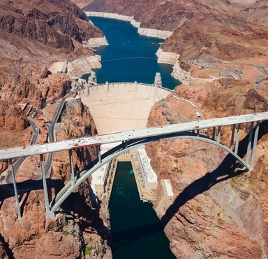 The Hoover Dam is a marvel of engineering.