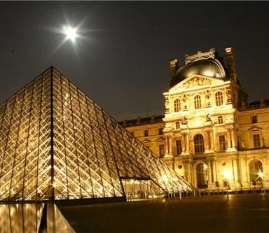 The Louvre is the most visited museum in the world.