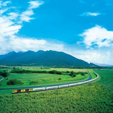 Train travel is a more viable option than many people many realize.