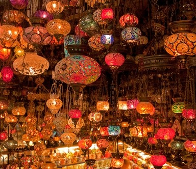Turkish lamps are a winner of a souvenir.