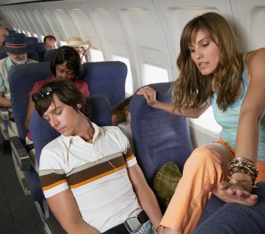 Most annoying airplane behavior