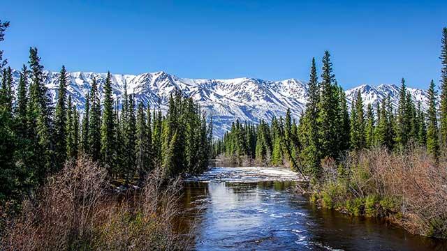 Alaska Wrangell Mountains