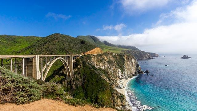 Bixby Bridge California Pacific Coast Highway