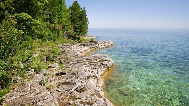 Peninsula State Park in Door County Wisconsin