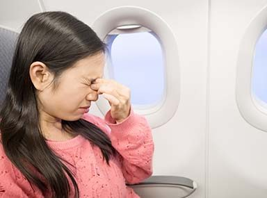 How to Prevent Motion Sickness on an Airplane